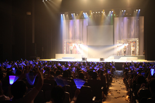 「大和彼氏 ON THE STAGE 2011」アンコールの模様 (C)2010 Animelo/Dear Girl (c)ListenJapan