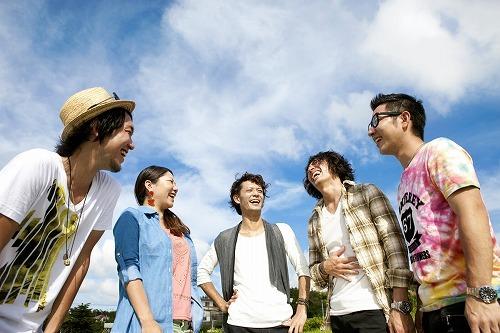 YouTubeで生中継ライブを実施するHY (c)Listen Japan