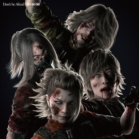 シングル「Don't be Afraid」【完全生産限定 BIOHAZARD(R)×L'Arc-en-Ciel盤】LPサイズ特殊仕様レンチキュラージャケット(Zombie) (okmusic UP's)