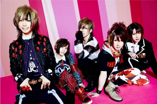 5人組ヴィジュアル系ロック・バンドのSuG (c)Listen Japan