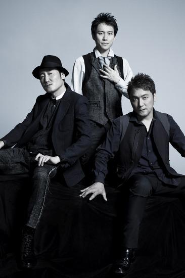 藤原道山/古川展生/妹尾 武の3人からなるユニット、KOBUDO -古武道- (c)Listen Japan