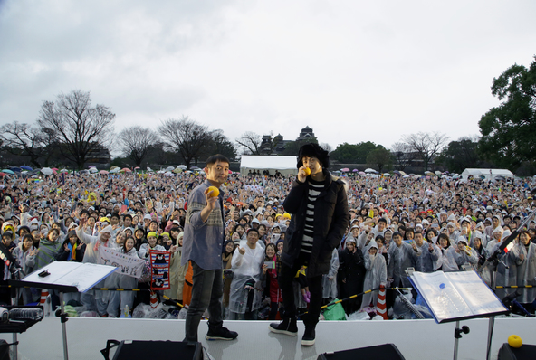 12月22日@熊本城 二の丸広場 (okmusic UP\'s)