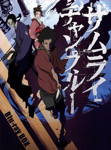 「サムライチャンプルー」Blu-ray BOXジャケット (C)manglobe/下井草チャンプルーズ (c)ListenJapan