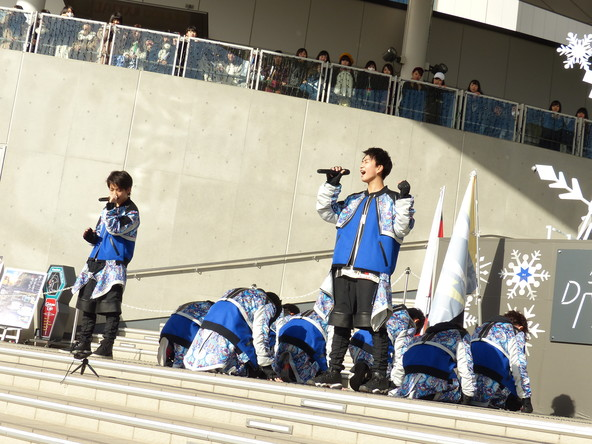12月24日(土)@ダイバーシティ東京プラザ2F フェスティバル広場 (okmusic UP's)