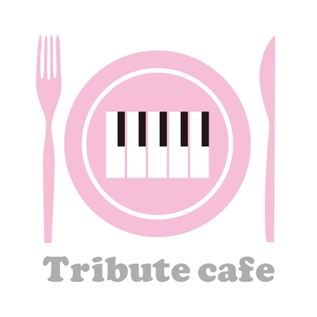 Tribute cafe ロゴ (okmusic UP\'s)