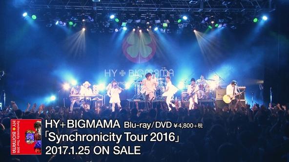 Blu-ray&DVD『Synchronicity Tour 2016』 ティザー (okmusic UP's)