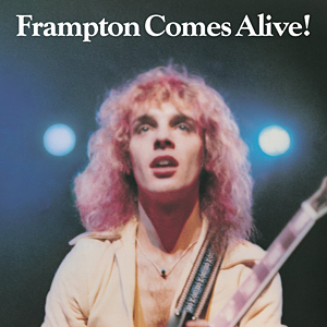 Peter Frampton『Frampton Comes Alive!』のジャケット写真 (okmusic UP\'s)