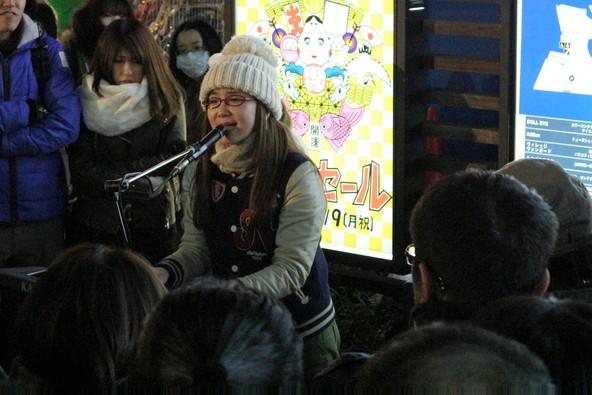 1月5日(木)@名古屋・金山駅前 (okmusic UP\'s)