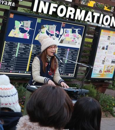 1月5日(木)@名古屋・金山駅前 (okmusic UP's)
