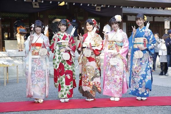 1月7日@乃木神社 (okmusic UP's)