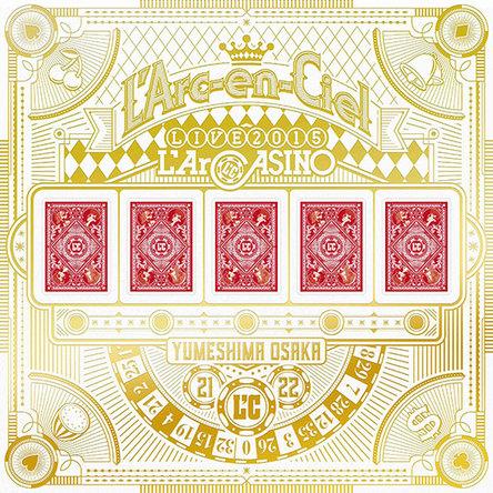 Blu-ray『L\'Arc〜en〜Ciel LIVE 2015 L\'ArCASINO』【完全生産限定盤】(BD+2CD+3アナログレコード+7L\'ArCHIP) (okmusic UP\'s)