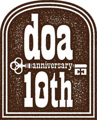doa 10周年ロゴ (okmusic UP's)