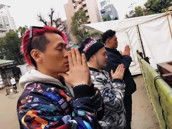 1月22日@大阪天満宮 (okmusic UP's)