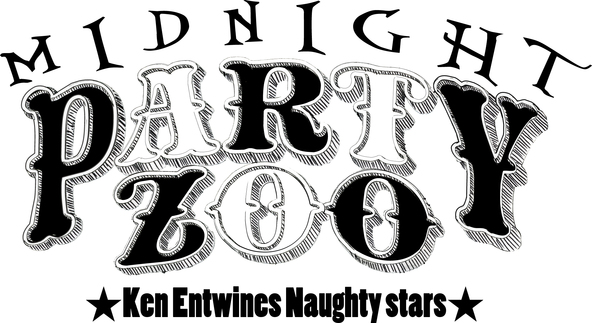 『PARTY ZOO ~Ken Entwines Naughty stars~』ロゴ (okmusic UP's)