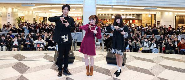 1月24日@東京・池袋サンシャインシティ噴水広場 (okmusic UP's)