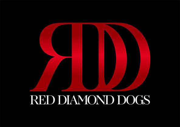 RED DIAMOND DOGS ロゴ (okmusic UP\'s)