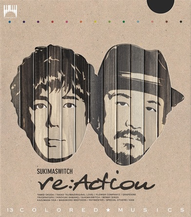 アルバム『re:Action』【初回生産限定盤】(2DISCS:Blu-spec CD2) (okmusic UP\'s)