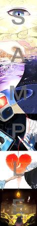 ミニアルバム『CLOUD 7』先着購入者特典のアナザージャケット (okmusic UP's)