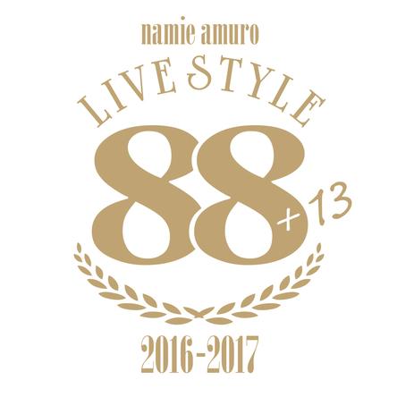 「namie amuro LIVE STYLE 2016-2017」ロゴ (okmusic UP's)