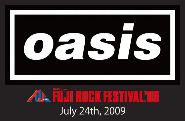 『oasis FUJI ROCK FESTIVAL'09』 ロゴ (okmusic UP\'s)