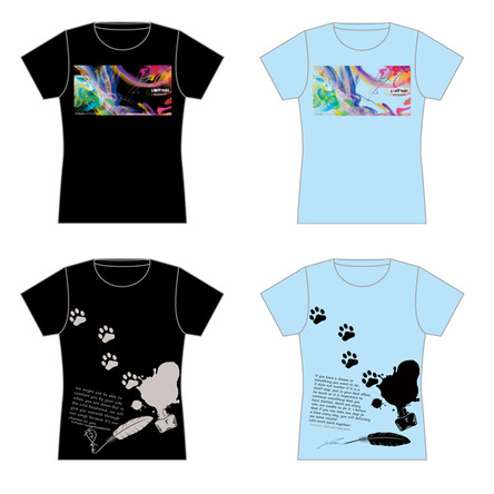 LOST ASH 自由視点動画付「ルッキュTシャツ」 (okmusic UP's)