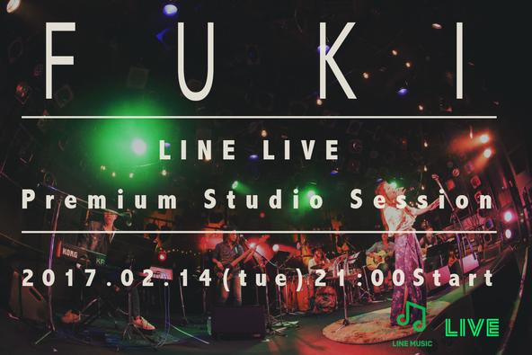 LINE LIVE告知画像 (okmusic UP\'s)