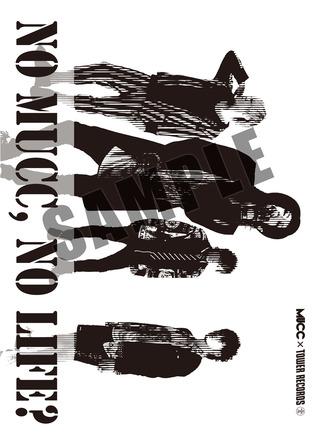 TOWER RECORDS  特典:NO MUCC NO LIFE絵柄 クリアファイル (okmusic UP's)