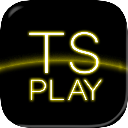 『TS PLAY』ロゴ (okmusic UP\'s)