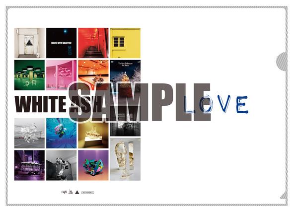 「LOVE」オリジナルクリアファイル (okmusic UP's)