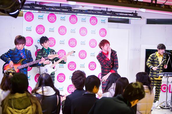 2月14日@JOL原宿 (okmusic UP's)