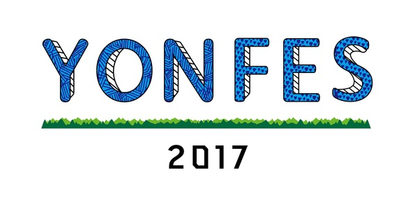『YON FES 2017』ロゴ (okmusic UP\'s)