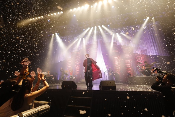「MOTION 2016 CHRISTMAS CONCERT ~ Silent Night with Nicholas Edwards 」ライブ写真 (okmusic UP's)