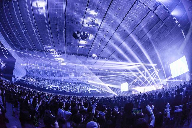 "「ONE OK ROCK 2017 ""Ambitions"" JAPAN TOUR」@静岡エコパアリーナ"