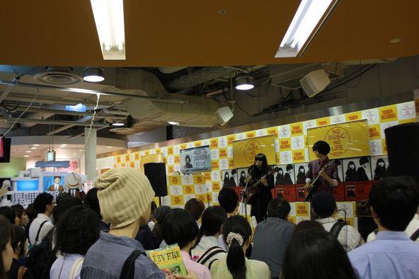 6月12日(木)@ タワーレコード新宿店 (okmusic UP's)