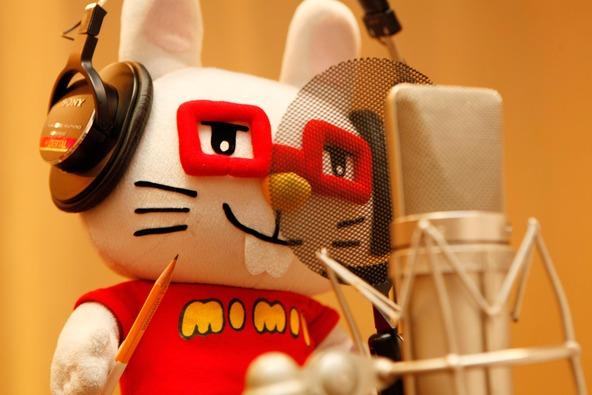 レコーディングに挑むミミー (okmusic UP\'s)