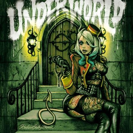 アルバム『UNDERWORLD』 (okmusic UP's)