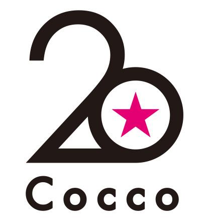 Cocco 20周年ロゴ (okmusic UP's)