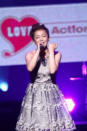 【華原朋美】6 月13日(金)@『LOVE in Action Meeting (LIVE)』@日本武道館 (okmusic UP's)