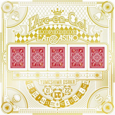 Blu-ray『L'Arc~en~Ciel LIVE 2015 L'ArCASINO』【完全生産限定盤】(BD+2CD+3アナログレコード+7L'ArCHIP) (okmusic UP's)