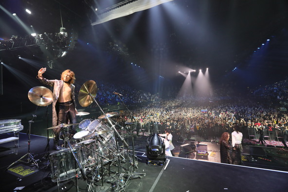 『X JAPAN LIVE 2017 at the WEMBLEY Arena in LONDON』 (okmusic UP's)