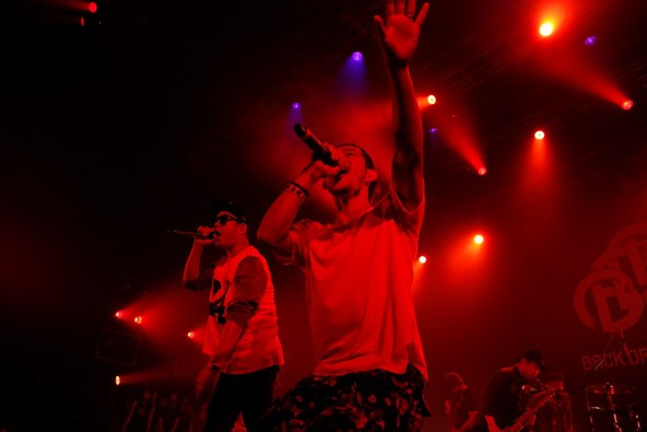 【BACK DROP BOMB】6月14日@ROPPONGI EX THEATER (okmusic UP's)
