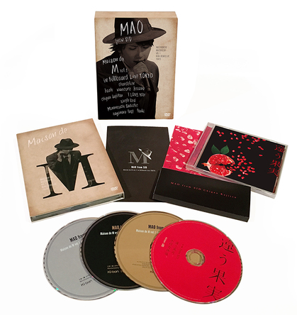 「Maison de M vol.1 in Billboard Live TOKYO」初回生産限定盤 展開画像 (okmusic UP's)