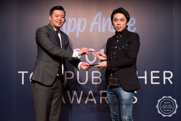 「2016 Top Publisher Awards」授賞式 写真 (okmusic UP\'s)