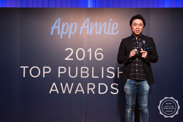「2016 Top Publisher Awards」授賞式 写真 (okmusic UP's)