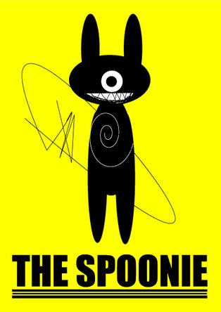 THE SPOONIE ロゴ (okmusic UP's)