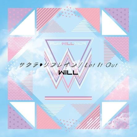 シングル「サクラリフレイン/Let It Out」【通常盤】(CDのみ) (okmusic UP's)