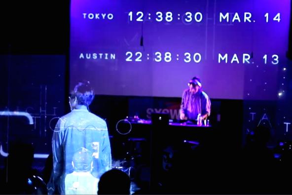 「CYBER TELEPORTATION TOKYO at SXSW」の模様 (okmusic UP's)