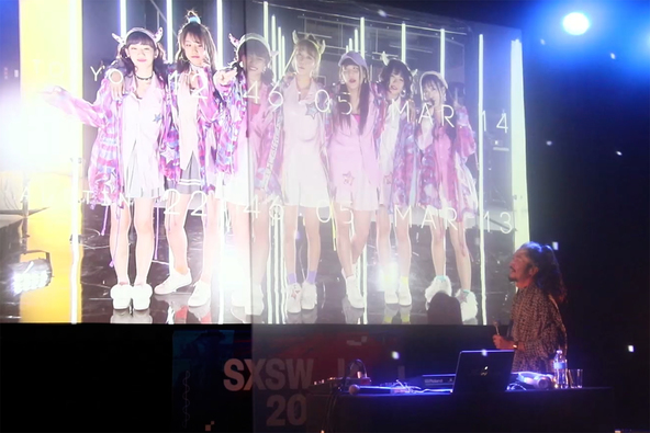 「CYBER TELEPORTATION TOKYO at SXSW」の模様 (okmusic UP\'s)