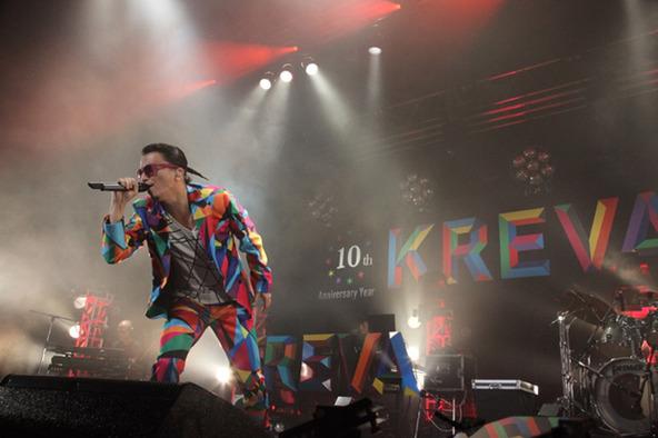 KREVAがZepp Namba Osakaでライブハウスツアー2014『K10』(ケイテン)と題した全国ツアーをスタート! (okmusic UP\'s)