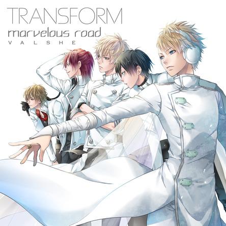 シングル「TRANSFORM / marvelous road」 【初回限定盤B】 (okmusic UP's)